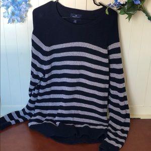 American Eagle striped men's sweater